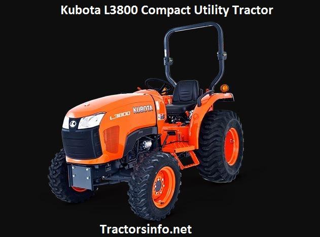Kubota L3800 Price, Specs, Review & Attachments