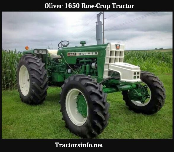 Oliver 1650 Tractor HP, Price, Specs & Reviews