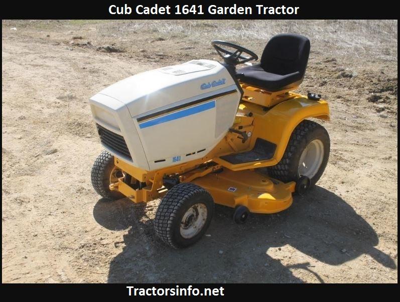Cub Cadet 1641 Price, Specs, Review & Attachments
