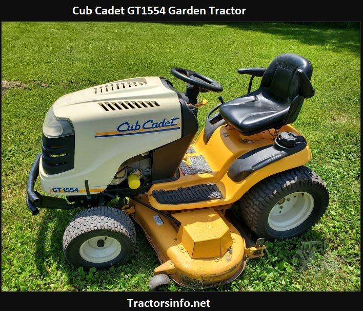 Cub Cadet GT1554 Price, Specs, Reviews, Attachments