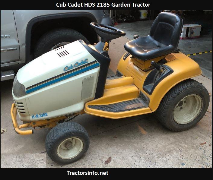 Cub Cadet HDS 2185 Price, Specs, Review