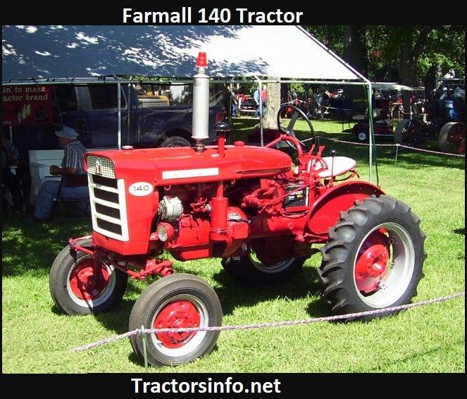 Farmall 140 Tractor Price, Specs, Review & Attachments