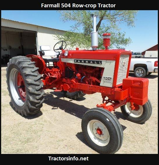 Farmall 504 Tractor Specs, Price, Review, Attachments