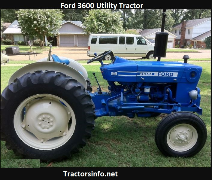 Ford 3600 HP Price, Specs, Review, Attachments