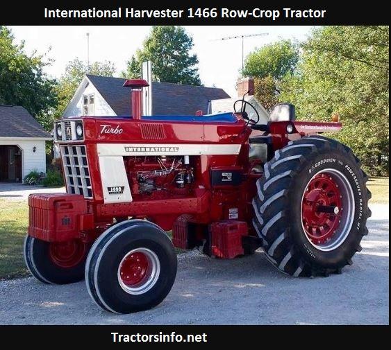 International Harvester 1466 Horsepower, Price, Specs, Reviews