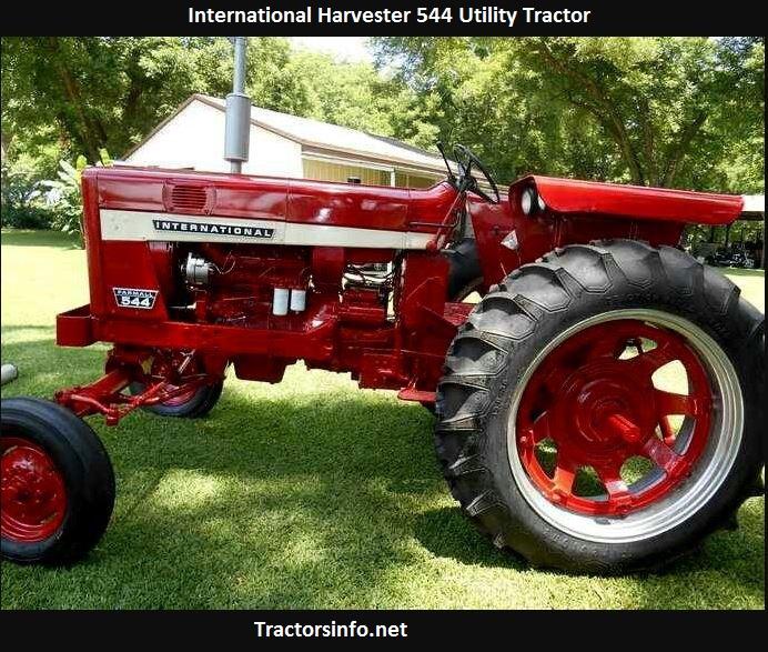 International Harvester 544 Specs, Price, Serial Numbers