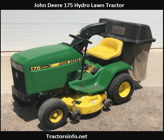 John Deere 175 Hydro Price, Specs, Review