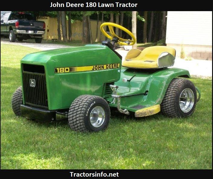John Deere 180 Price, Specs, Review, Attachments