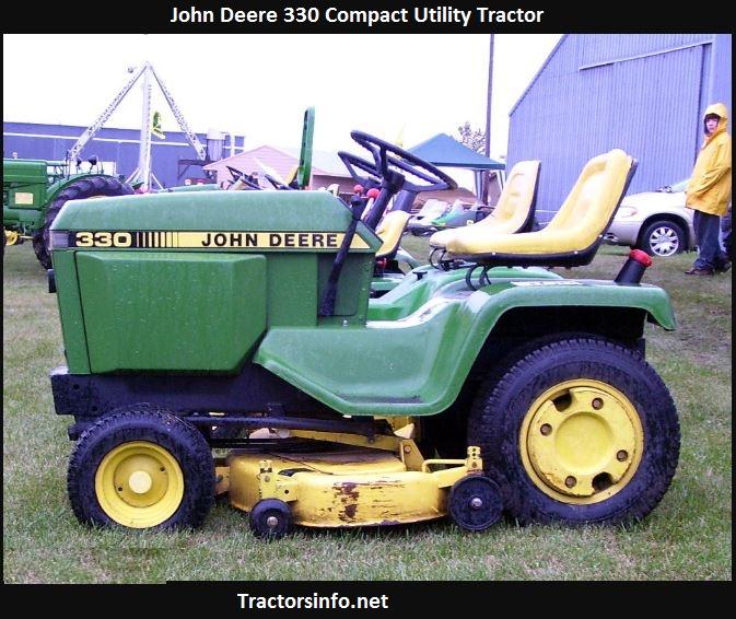 John Deere 330 Price, Specs, Review, Attachments