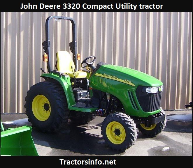 John Deere 3320 HP, Price, Specs, Review, Horsepower