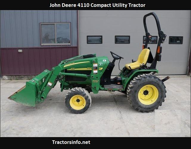 John Deere 4110 HP, Price, Specs, Reviews, Attachments