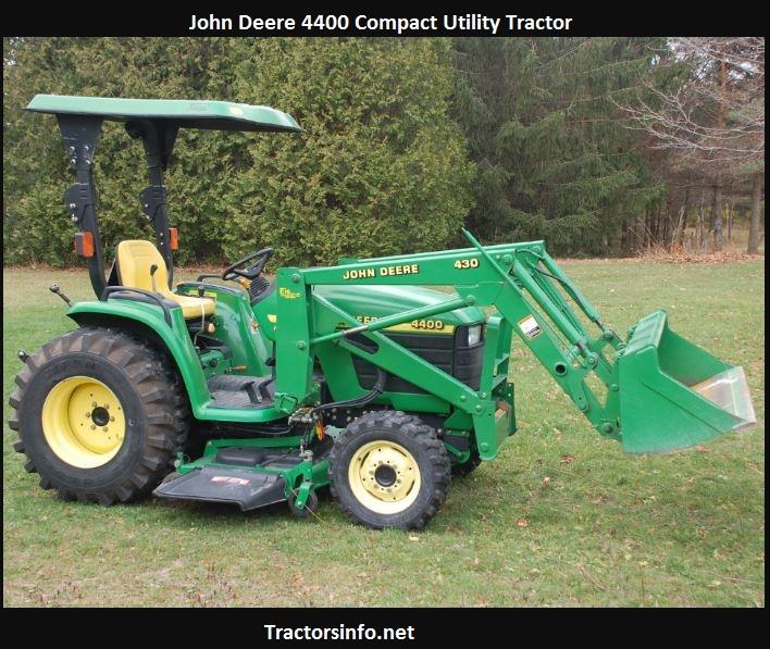 John Deere 4400 Tractor Price, Specs, Review, Attachments