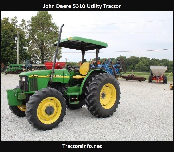 John Deere 5310 Price, Specs, Review, Attachments