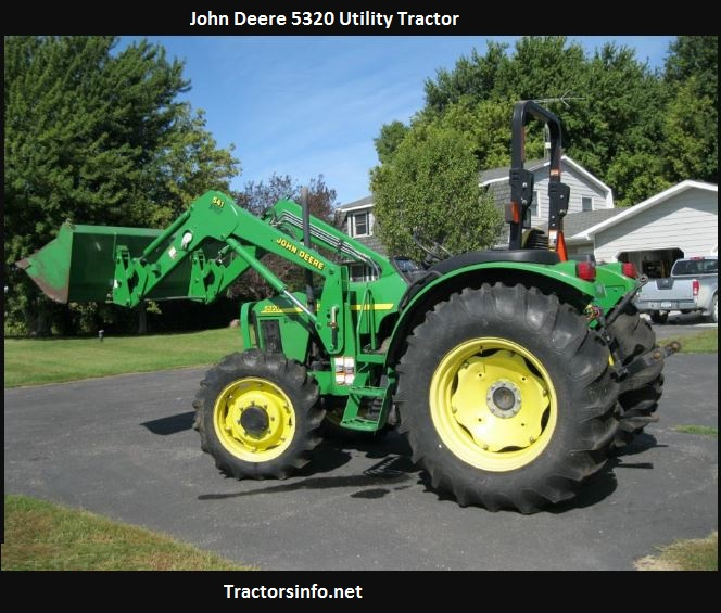 John Deere 5320 HP, Price, Specs, Review, Attachments