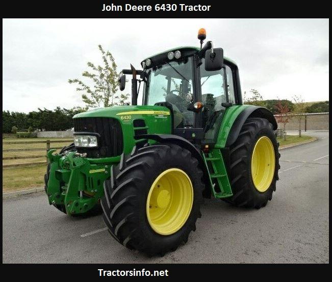John Deere 6430 HP, Price, Specs, Weight, Review