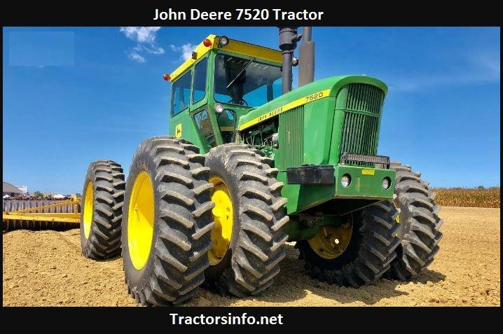 John Deere 7520 Horsepower, Price, Specs, Reviews