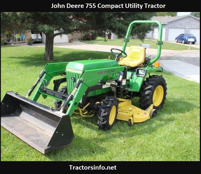 John Deere 755 Price, Specs, Review, Attachments