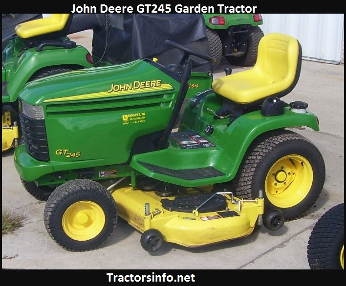 John Deere GT245 Price, Specs, Review, Attachments