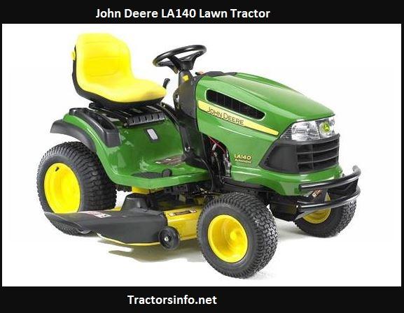 John Deere LA140 Price, Specs, Review, Attachments