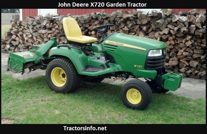 John Deere X720 Price, Specs, Reviews, Attachments