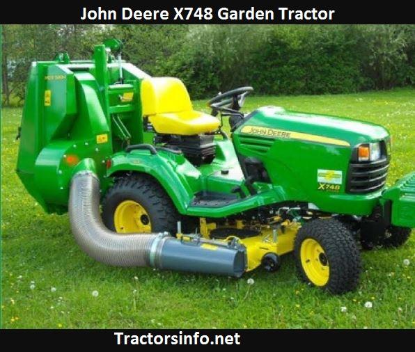 John Deere X748 Price, Specs, Review, Attachments