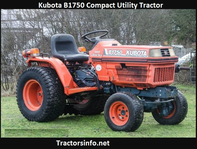Kubota B1750 HP, Price, Specs, Review, Attachments
