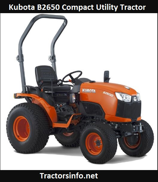 Kubota B2650 Price, Specs, Weight, Review & Attachments