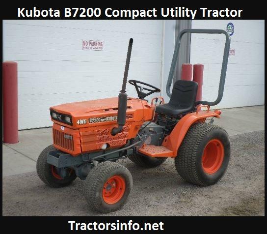 Kubota B7200 Price, Specs, Horsepower, Reviews, Attachments