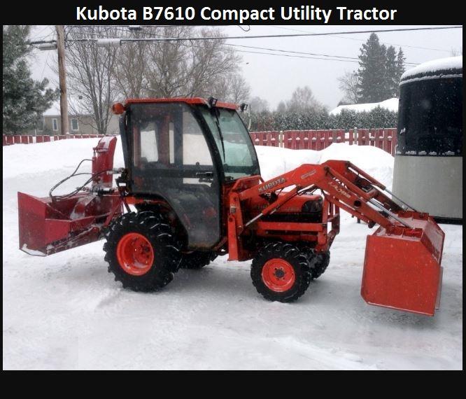 Kubota B7610 HP, Price, Specs, Reviews, Attachments