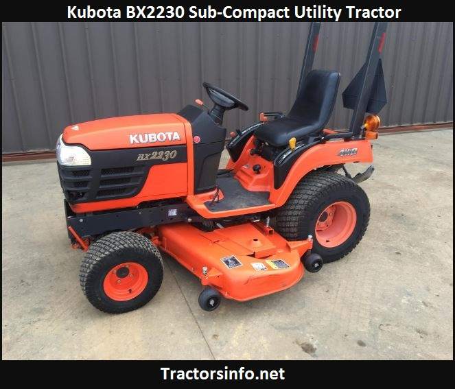 Kubota BX2230 Price, Specs, Weight, Review, Attachments