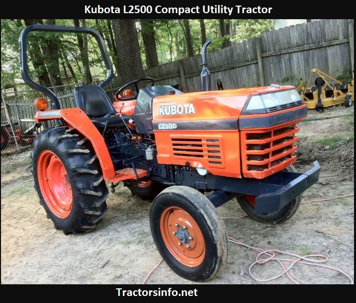 Kubota L2500 Price, Specs, Oil Capacity, Review, Attachments