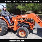 Kubota L2900 Price, Specs, Horsepower, Oil capacity, Reviews