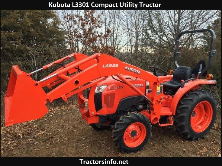 Kubota L3301 Price, Specs, Review, Attachments