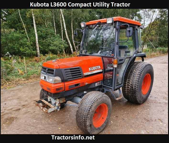 Kubota L3600 Price, Specs, Weight, Review, Attachments