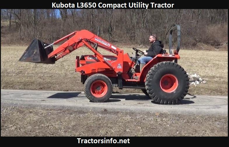 Kubota L3650 Horsepower, Price, Specs, Review