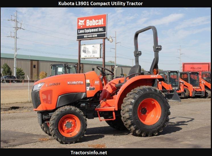 Kubota L3901 Price, Specs, Lift Capacity, Attachments