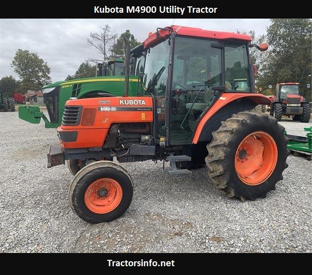 Kubota M4900 Price, Specs, Oil Capacity, Weight, Review