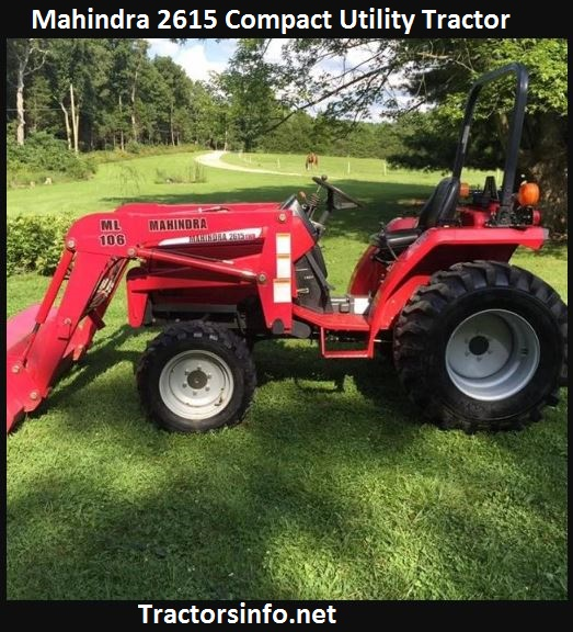 Mahindra 2615 Price, Specs, Review, Attachments