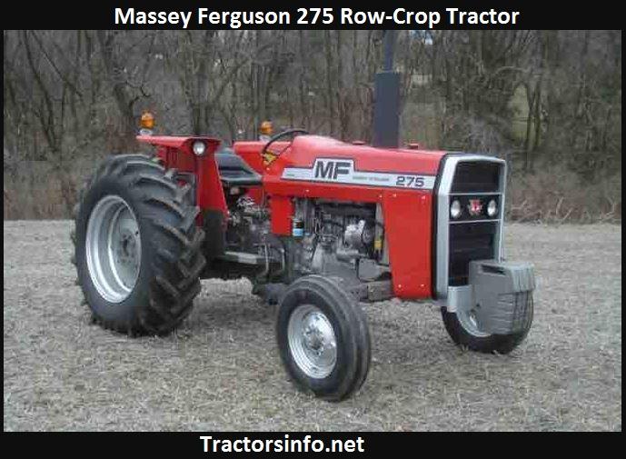 Massey Ferguson 275 Price, Specs, Review
