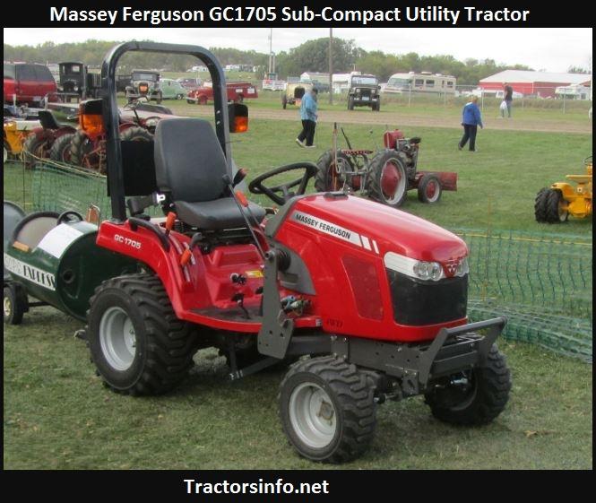 Massey Ferguson GC1705 Price, Specs, Review, Attachments