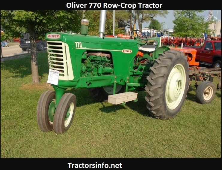 Oliver 770 HP, Price, Specs, Engine Oil Capacity, Review