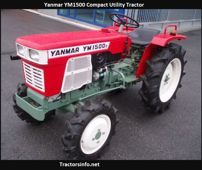 Yanmar YM1500 Price, Specs, Serial Number, Review