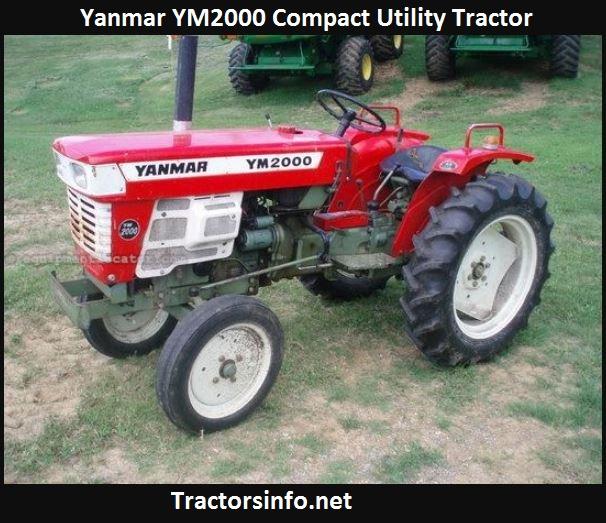 Yanmar YM2000 Tractor Price, Specs, Reviews