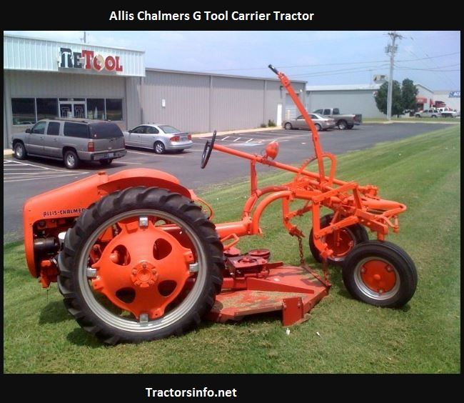 Allis Chalmers G Tool Carrier Tractor Price, Specs, History