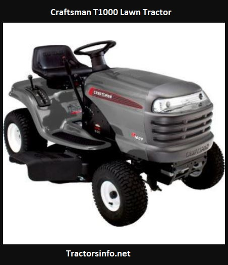 Craftsman T1000 Price, Specs, Review, Attachments