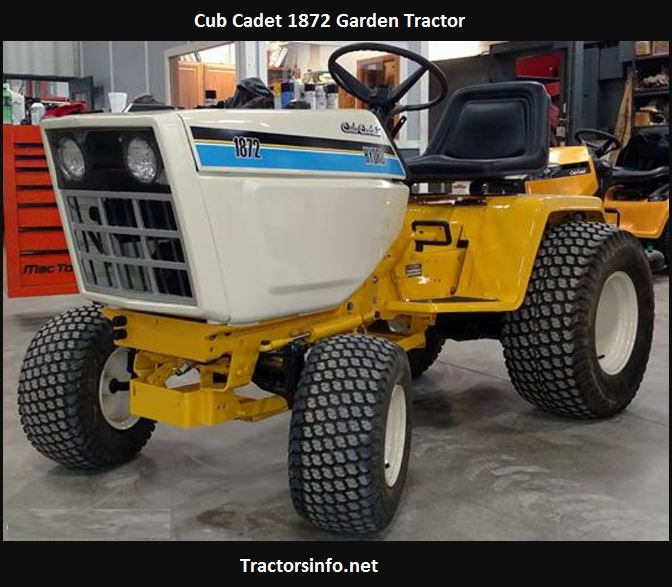 Cub Cadet 1872 Price, Specs, Reviews, Weight, Attachments