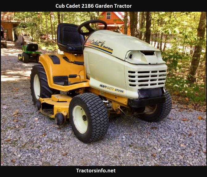 Cub Cadet 2186 Price, Specs, Reviews, Attachments