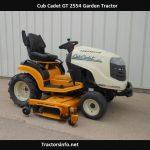 Cub Cadet GT 2554 Price, Specs, Review, Attachments