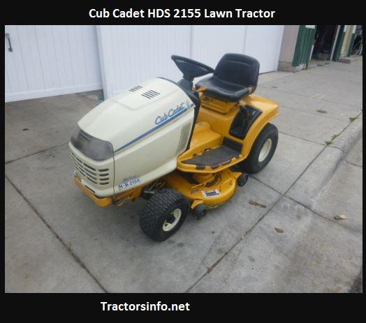 Cub Cadet HDS 2155 Price, Specs, Review, Attachments