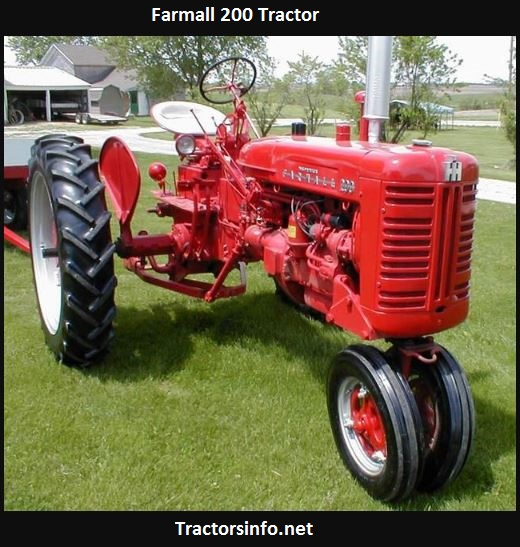 Farmall 200 Serial Numbers, Price, Specs, History
